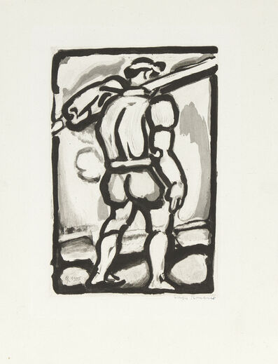 Georges Rouault, 'Chemineau (Vagabond) from Passion', 1935