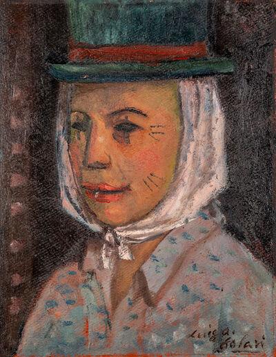 "Luis Alberto Solari, '""Mujer con sombrero verde""', 1953"