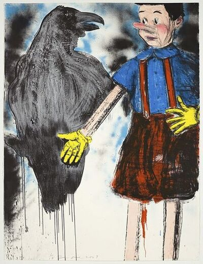 Jim Dine, 'Tartan Pants', 2009