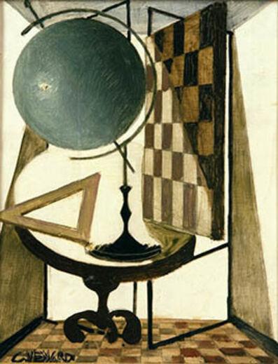 Claude Venard, 'Le Mappemonde et le Damier (Globe and Checkerboard)'