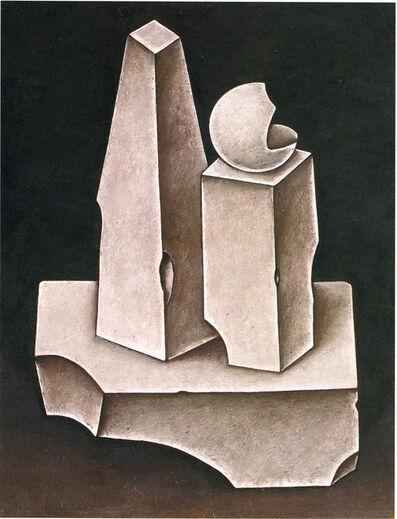 Dmitry Krasnopevtsev, 'Still Life with Plaster Figures', 1968