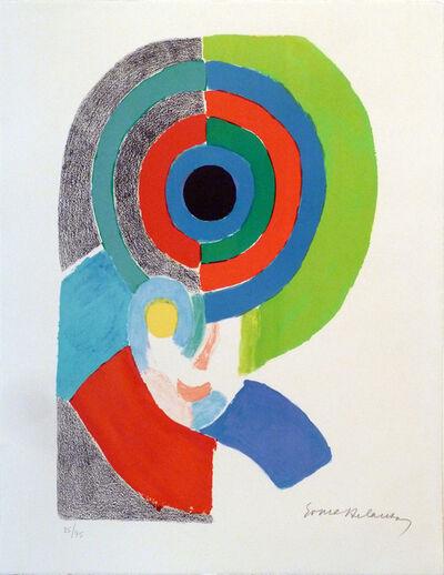 Sonia Delaunay, ' Composition pour un autoportrait', 1971
