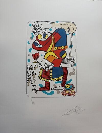 Salvador Dalí, 'Playing Card Joker', 1972