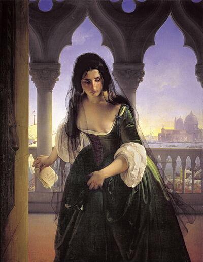 Francesco Hayez, 'La accusa segreta [The Secret Accusation]', 1847-1848