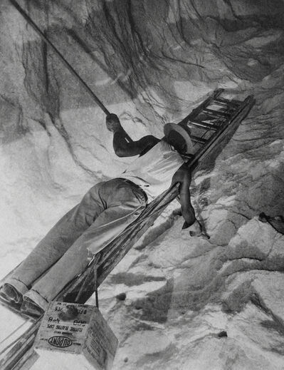 Harold Haliday Costain, 'Charging the Cliff with Dynamite, Avery Island, Louisiana', 1934