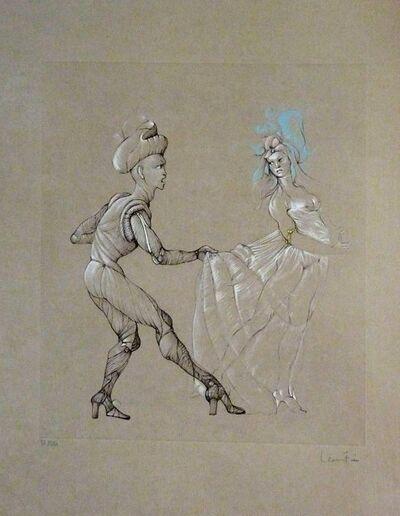 """Leonor Fini, 'Original Etching """"Woman"""" by Leonor Fini', 1960s"""