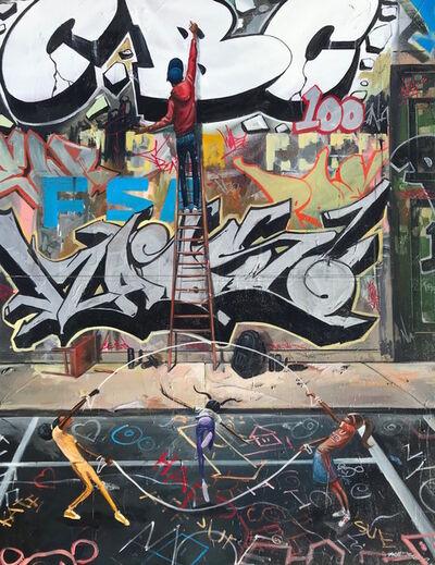 Frank Morrison, 'Graffiti Summer', 2019