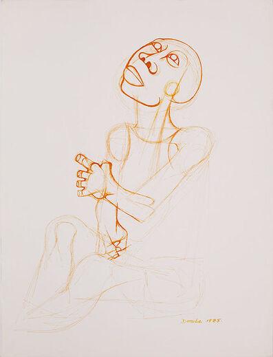 Dumile Feni, 'Untitled (Supplicant Figure)', 1985