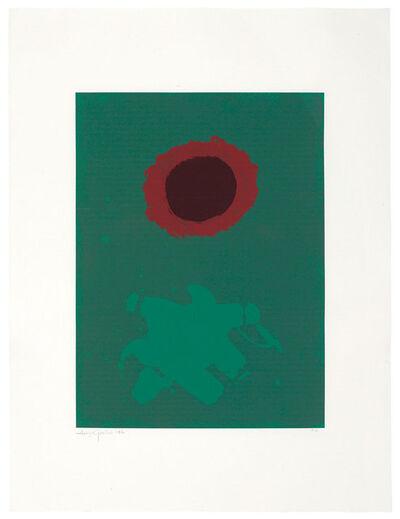 Adolph Gottlieb, 'Chrome Green', 1972