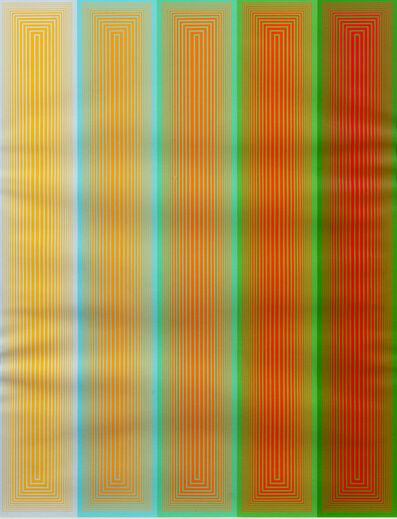 Richard Anuszkiewicz, 'Inward Eye', 1970