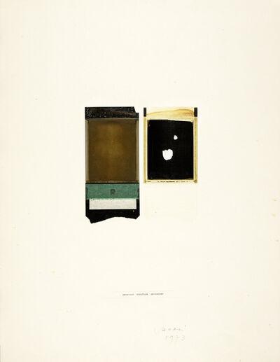 Franco Vaccari, 'Processo', 1973