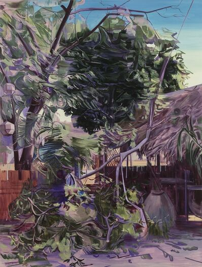 Lei Qi, 'Bagan's restaurant in the afternoon', 2018