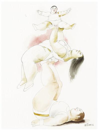 Fernando Botero, 'Circus Family', 2006