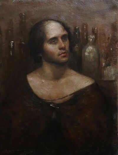 Raul Campos, 'Portrait of a drunk'