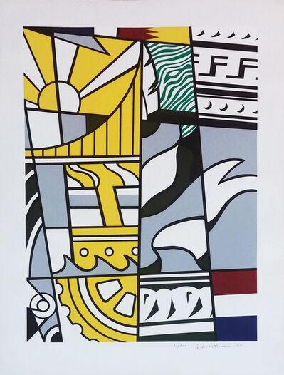 Roy Lichtenstein, 'BICENTENNIAL PRINT', 1975