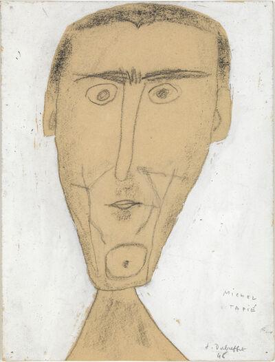 Jean Dubuffet, 'Portrait Michel Tapie', 1946