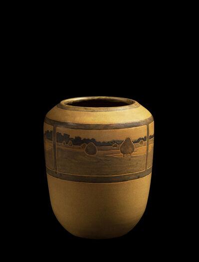 Marblehead Pottery, ''Landscape' Vase', ca. 1909
