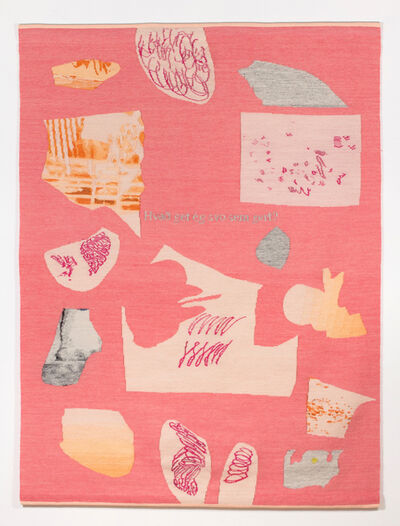 Arna Óttarsdóttir, 'What Can I Do Anyway (Pink Collage)', 2017