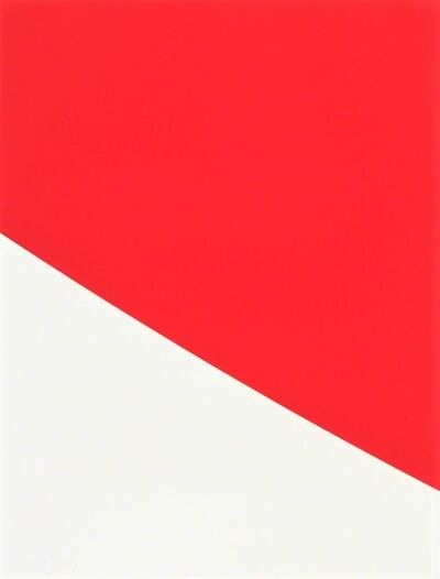 Ellsworth Kelly, 'Red Curve', 1999