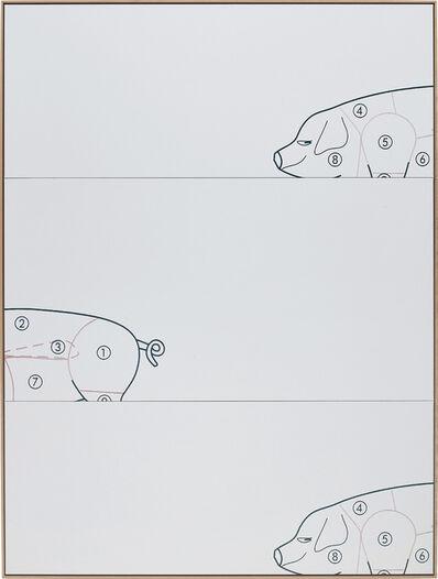 Oliver Osborne, 'The Pig', 2015