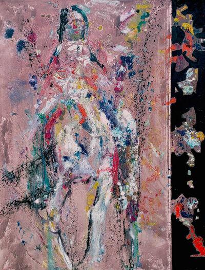 Marcel Kahhak, 'Native on a Horse', 2018