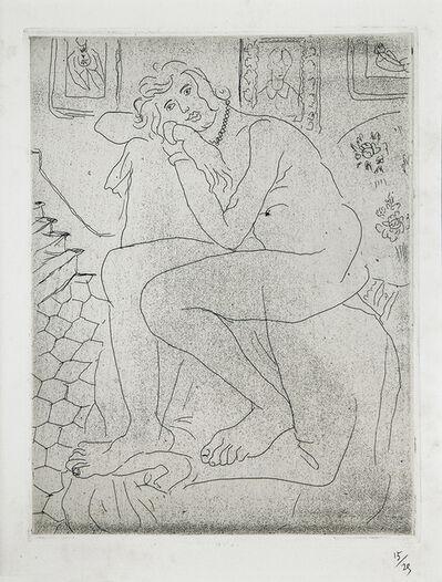 Henri Matisse, 'Nu assis et portrait de Mme Cézanne'