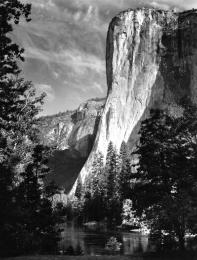 Ansel Adams, 'El Capitan, Sunrise, Yosemite National Park', 1956