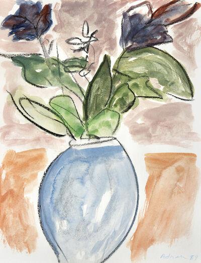 Etel Adnan, 'Fleurs II', 1989