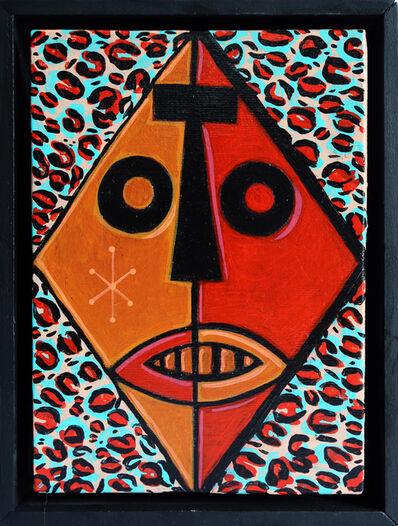 Vinnie Nylon, 'Leopard Zulu Mask', 2017