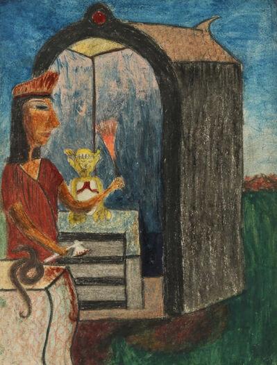 Minnie Evans, 'Sunrise Sacrifice', 1946-1948