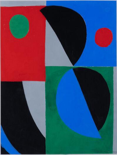 Sonia Delaunay, ' Poesie des mots poésie des couleurs', 1961