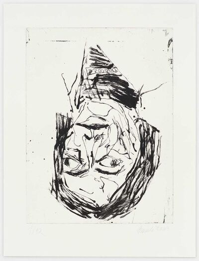 Georg Baselitz, 'Fautrier', 2018
