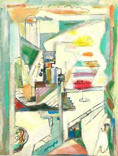 Walter Firpo, 'Le port de Marseille', ca. 1950