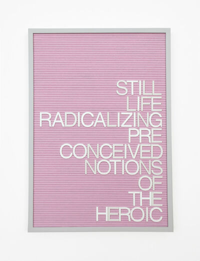 Maynard Monrow, 'Untitled / Notions Of The Heroic', 2016