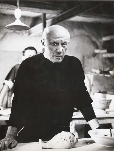 André Villers, 'Picasso with a Clay Sculpture', 1950s/1950s