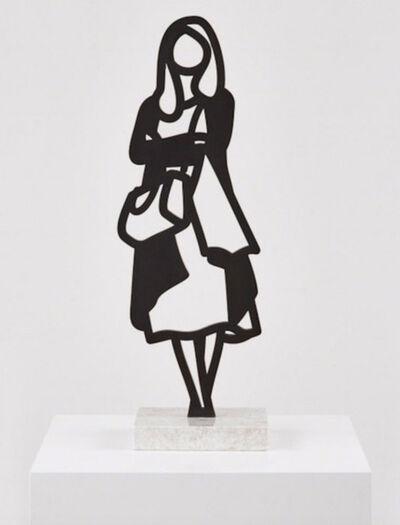 Julian Opie, 'Melbourne Statuettes – Cardigan ', 2018