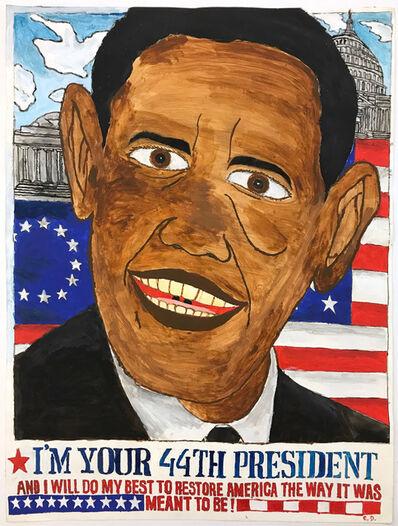 Carlo Daleo, 'Obama', 2008