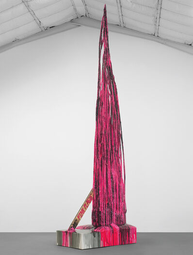 Sterling Ruby, 'Monument Stalagmite/Pink Plague', 2010