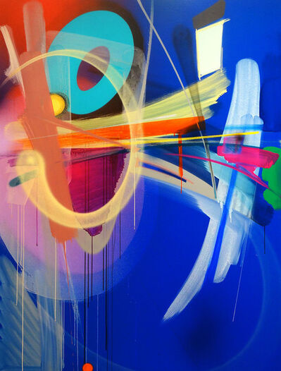 "Adrian Falkner / Smash137, '""Untitled (Blue)""', 2013"