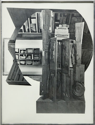 Louise Nevelson, 'Facade Suite', 1966