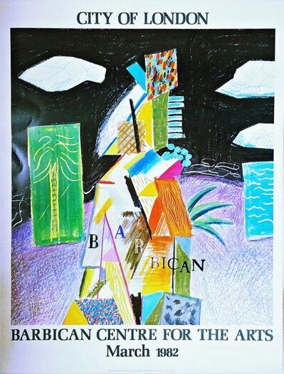 David Hockney, 'City of London (Hand Signed)', 1982