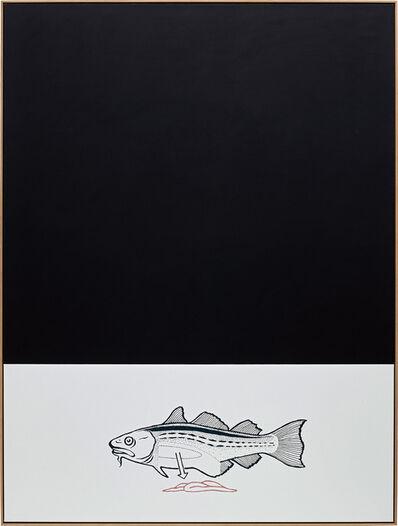 Oliver Osborne, 'Fish (Geriihrt)', 2015