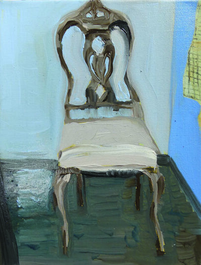 Claudia Baez, 'Patti Smith Land 250: Roberto Bolaño's Chair 1, 2010', 2018