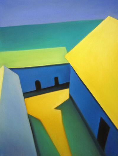 Margaret nes, 'Seaside Rooftops', 2017