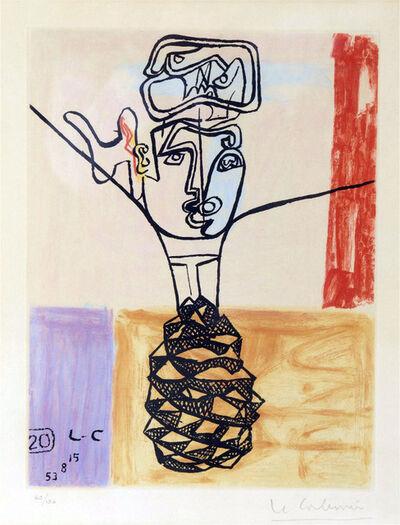 Le Corbusier, ' Visage : Planche pour Unité', 1965