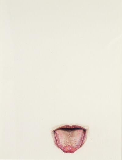 Julia Randall, 'Lick Line #18', 2003