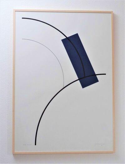 Gottfried Honegger, 'Etude Bleu', 2009