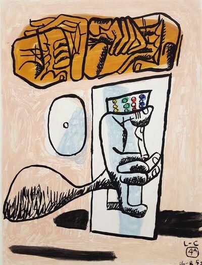 Le Corbusier, 'Unité, Planche 4 (Set of 2)', 1965