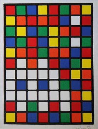Invader, 'Rubik Space', 2005