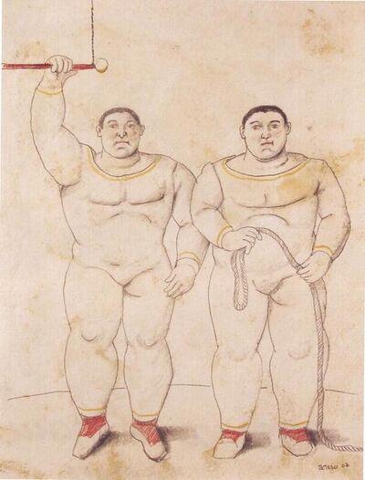 Fernando Botero, 'Trapezistas'